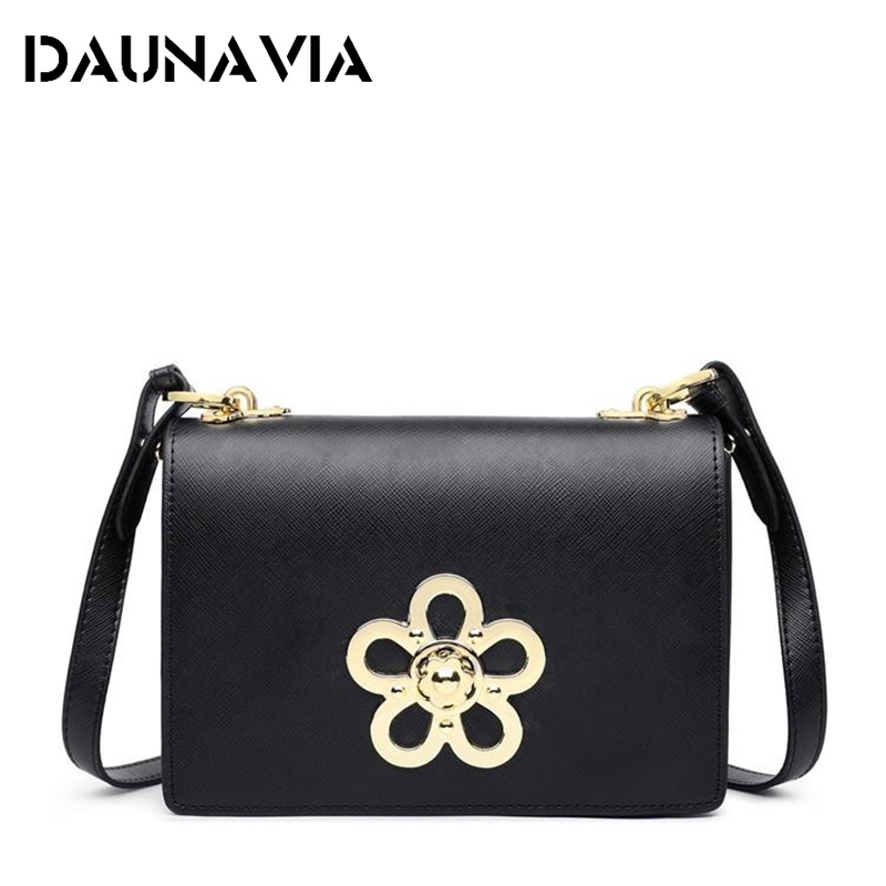 New Fashion Women Bag Genuine Leather Handbag Leather Brand Shoulder Messenger Bag Metallic Buckle Packag Bolsas Feminina