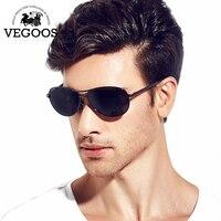 Klasyczne Płaskie Piloci VEGOOS Okulary Mężczyźni/Kobiety Marka Projektant Okulary Gradientu Szklany Obiektyw Mężczyzna Kobieta Okulary #1316