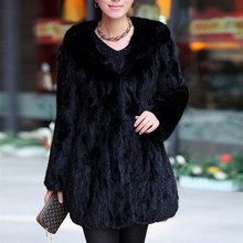 Luxury Genuine Real Sliced Mink Fur Coat Jacket with Hoody Winter Warm Coats Women Fur Outerwear Plus Size 3XL 4XL 5XL 0331