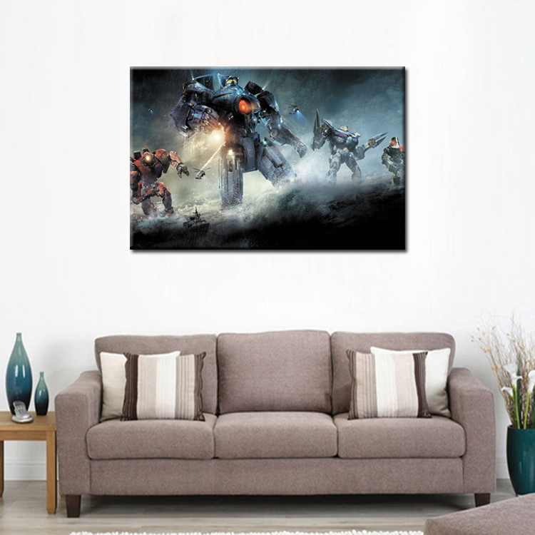 Top Wall Deocr Canvas Painting Movie poster series Modern Printed Oil Pictures Living Room Frame or No Frame Abstract 156 in Painting Calligraphy from Home Garden