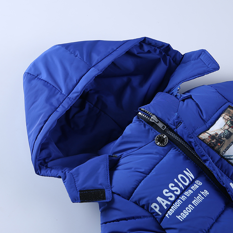 Children's clothing male winter cotton-padded jacket down cotton - Children's Clothing - Photo 4