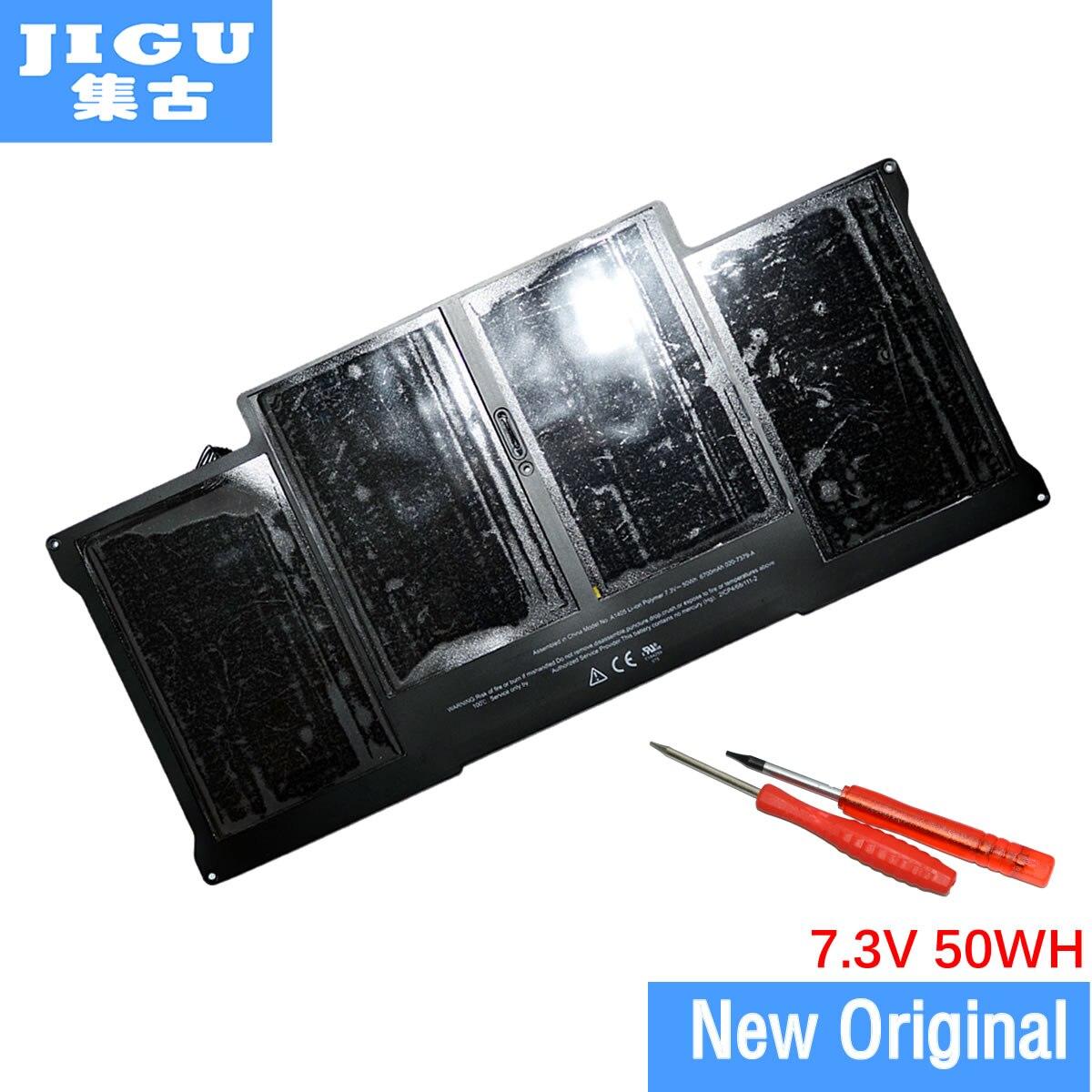 JIGU Prix Spécial Marque Nouvelle Batterie D'origine d'origine A1405 pour apple Pour MacBook Air 13