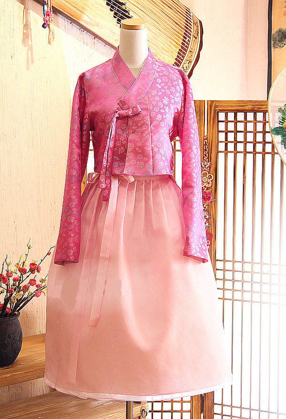 Modern Hanbok Fushion Hanbok Korean Traditional Hanbok Dress Modernized Hanbok