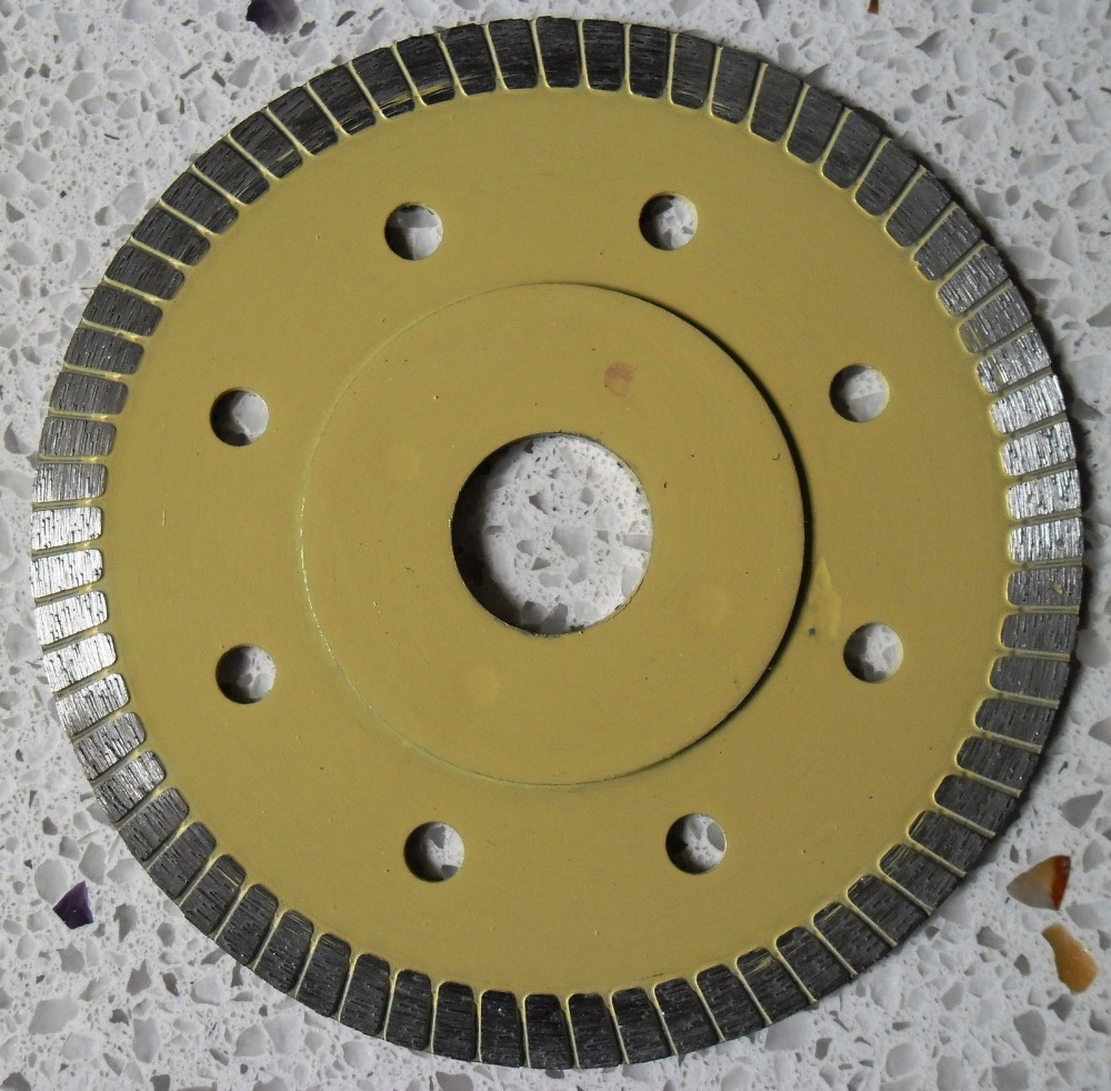 115*7*1.2mm Super Thin Diamond Cutting Blade For Ceramic Marble Tile Granite