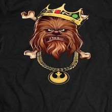 STAR WARS *CHEWBACCA* NOTORIOUS WOOKIE *OLDSKOOL SHIRT Mens *MANY OPTIONS* Free shipping  Harajuku Tops   Classic Unique T Shirt кружка star wars kiss a wookie 320 мл