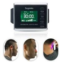 Портативный Медицинский физиотерапия боли запястье низкий уровень лазерная терапия устройства (НИЛИ) носовые натуральный устройств