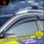 4 unids/set car styling ventanas de protección protector de la lluvia hrv visor cubierta para honda vezel 2014-2016 ventana lluvia visera coche decorar