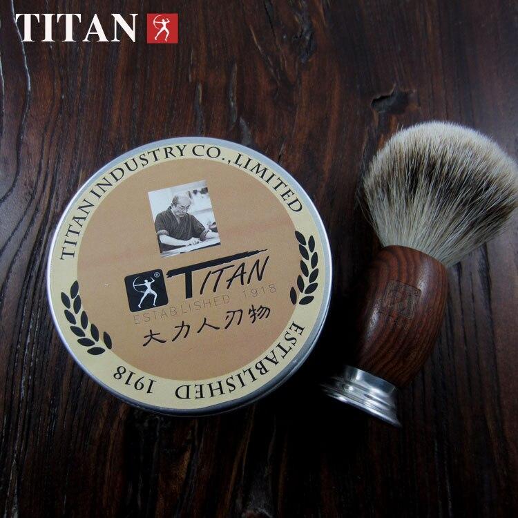 Image 2 - Titan  razor Shaving soap  shaver product soap for shaving free shipping-in Razor from Beauty & Health