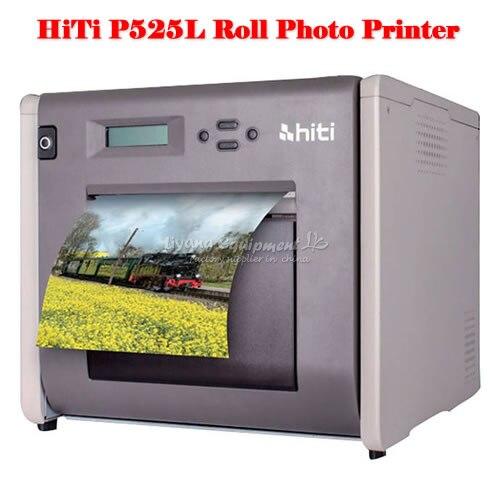 P525L Roll Stampante Fotografica HiTi portatile con impressionante velocità di stampa