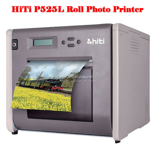portable HiTi P525L Roll Photo Printer with impressive print speeds flsun 3d printer big pulley kossel 3d printer with one roll filament sd card fast shipping