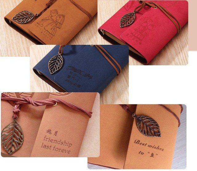 Vintage Antique Kraft Paper Photo Albums 30 Sheets for Baby Birthday Gifts