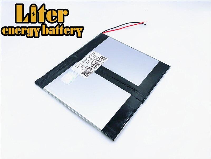 U30gt 1 U30gt 2 Quad Core Tablet Pc 3,7*140*125mm U30gt2 Radient 7,4 V 9600 Mah 37140125 35140125 Original Li-ion Batterie Für U30gt