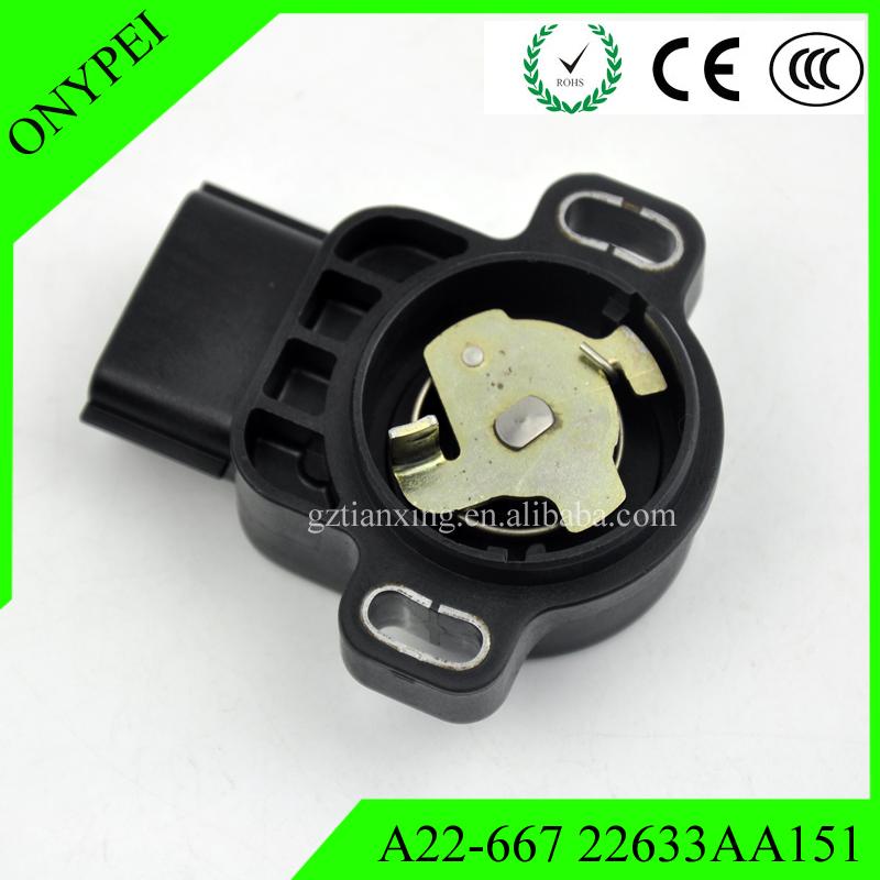 A22-667 Throttle Position Sensor 22633-AA151 For Subaru Forester Impreza Legacy Outback A22667 22633AA151 A22-667R00 22633-AA15B