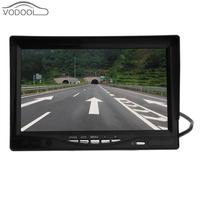 7 Car Wireless Foldable TFT LCD Monitor with Rear View Infrared Night Vision Backup Camera Reverse Parking Cam for Truck Bus