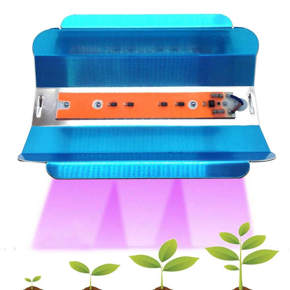 6pc COB LED Phyto Lamp 30W 45W 75W High Power LED Floodlights Grow Lights AC110V 220V IP65 Full Spectrum For Plants Vegetable