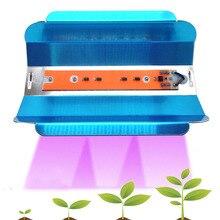 6 шт. удара светодио дный Фито лампы 30 Вт 45 Вт 75 Вт высокое Мощность светодио дный прожекторы растут AC110V 220 В IP67 полный спектр для растений овощей