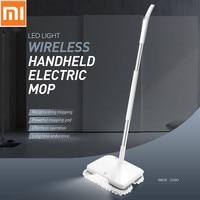 Оригинальный Xiaomi Электрическая Швабра пылесос Беспроводной ручной стеклоочистителей омыватели мокрой уборки робот пол СС машина с светод