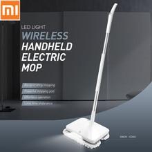 Оригинальный Xiaomi Электрическая Швабра пылесос Беспроводной ручной очистки шайбы мокрой уборки робот устройство для швабры с светодио дный свет