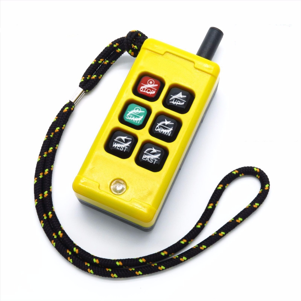 F21-4S-Y long-distance 500 meters elevator industrial wireless remote control can be customized AC380V