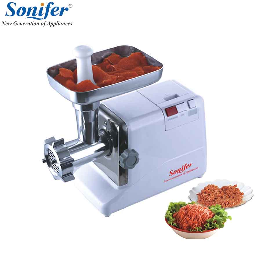 2000W Home Electric Meat Grinder Sausage Stuffer Mincer Heavy Duty Household Mincer Sonifer 110 240v electric meat grinder heavy duty household commercial sausage maker meats mincer food grinding mincing machine