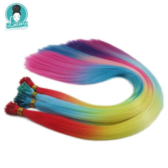 Colored Hair Extensions 4