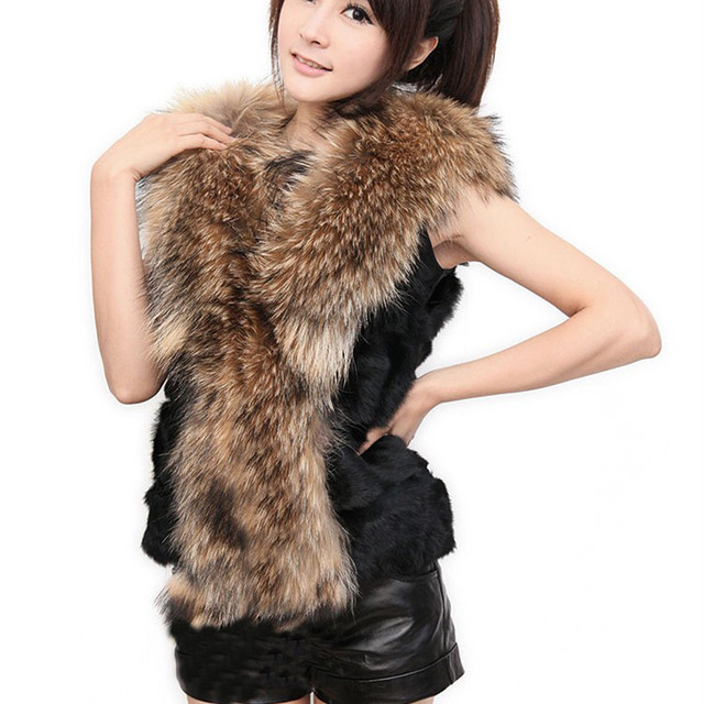 Warm Autumn Winter Luxury Women Faux fur Vest Sleeveless Coat Outerwear Lady Female Long Hair Jacket Waistcoat Outwear Top Dec6
