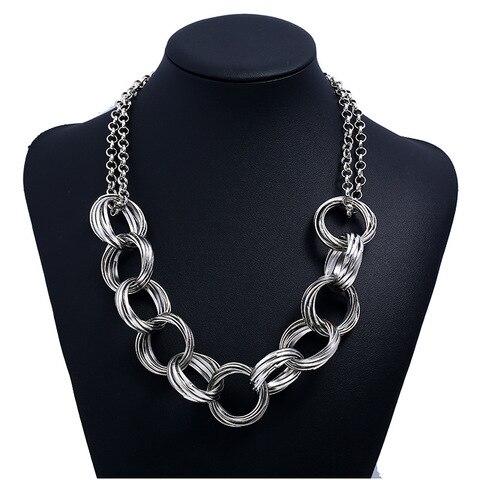 Купить женское колье lzhlq в стиле панк ожерелье этническом массивное