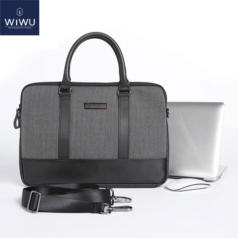 WIWU Geantă din piele pentru laptop pentru MacBook Pro 13 2017 - Accesorii laptop