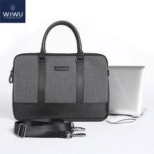 WIWU Leather Laptop Bag Case for MacBook Pro 13 Computer Xiaomi Notebook Air 16 A2141 2019