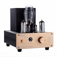 2018 New Nobsound Stereo Vacuum 6N3 Tube Hybrid Class A Tube Amplifier Desktop PC USB DAC
