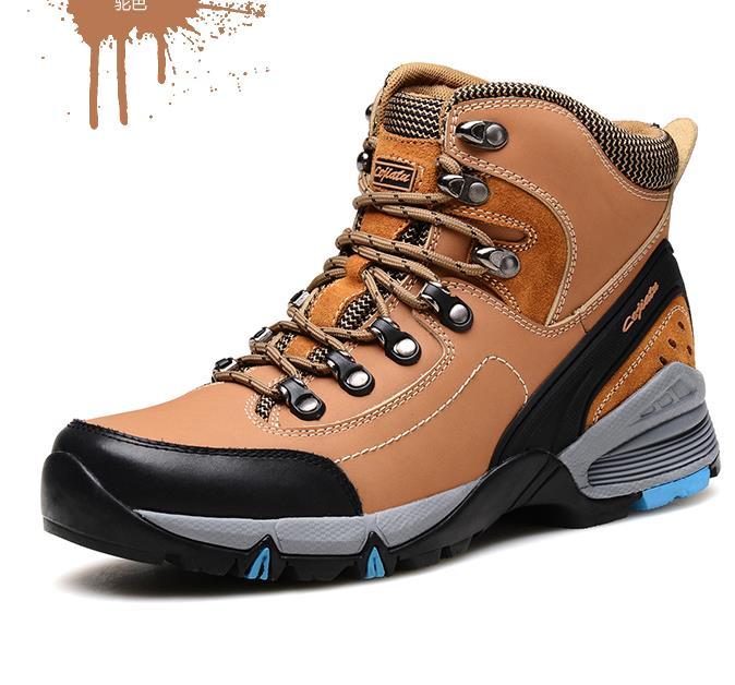 L'usure 1 3 Plein Chaud Chaussures Anti 5 Air À 4 Cuir 6 En Qualité 7 Résistant Peluche Bottes Hommes Haute Hiver 8 dérapage 2 D'hiver Naturel ZUxRqn