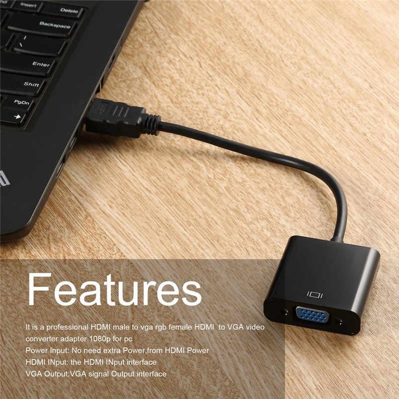 hdmi to vga RGB vga to hdmi cable Video adapter HDMI Cable 1080P HDTV  Monitor for television smart tv adaptador