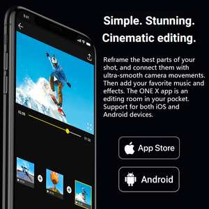 Image 3 - Insta360 ONE X Camera 5.7K video 18MP photo Control Time and Perspective Edit on The Fly compatible with Insta 360 ONE X app