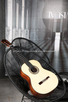 Professional Handmade 39 Inch Full Solid Acoustic Classical Guitar With Spruce Top Solid Rosewood Maple Body