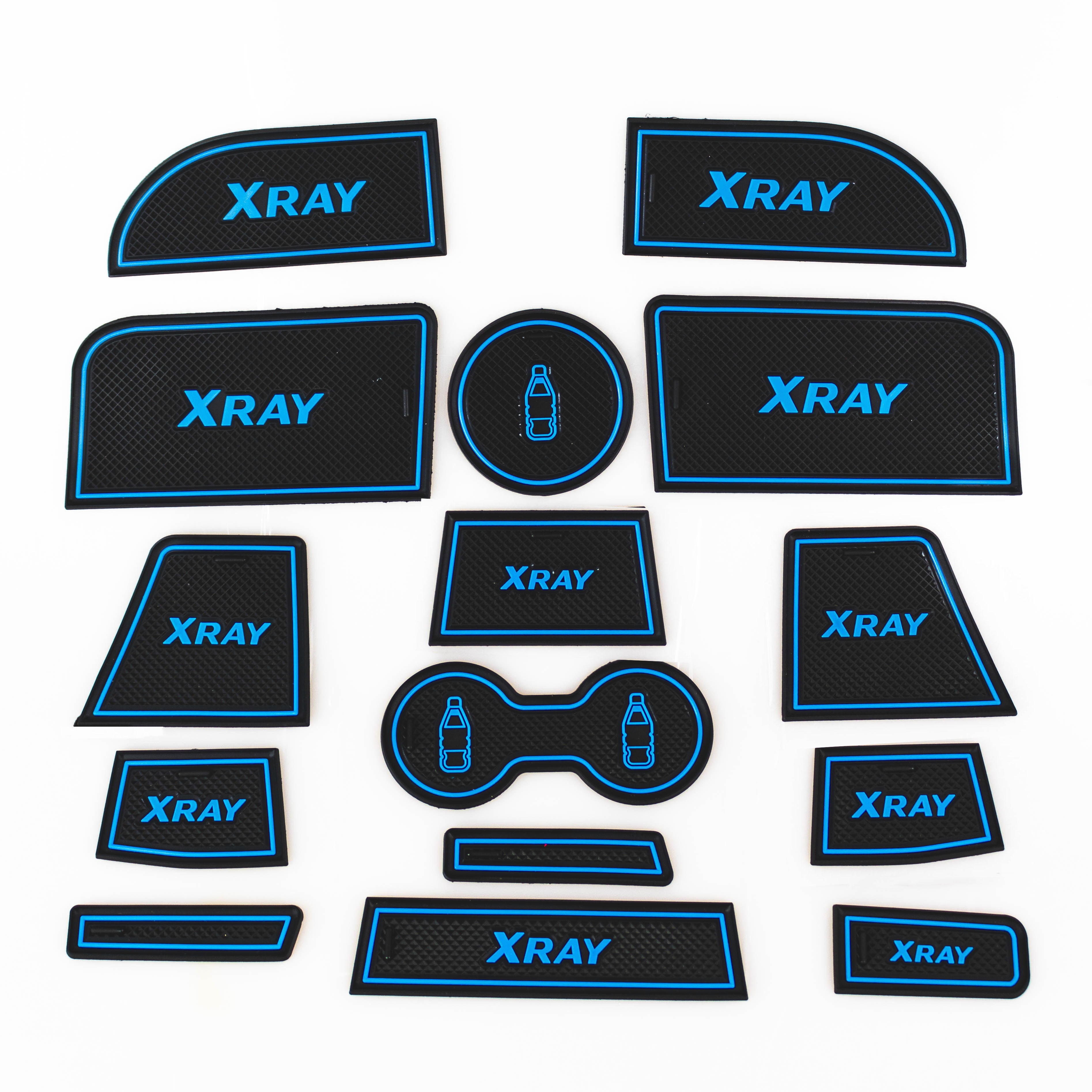 NEW XRAY Gate Slot Pad Door Groove Mat Interior Non-slip Mats Dust-proof Mat for LADA XRAY 2016-2018NEW XRAY Gate Slot Pad Door Groove Mat Interior Non-slip Mats Dust-proof Mat for LADA XRAY 2016-2018
