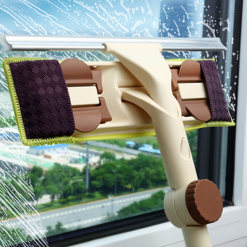 Wipe glass double sided household cleaning the Windows artifact clean tool scraping the tall building the new glass LM12241819