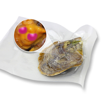 CLUCI Bright Pink 7 8mm Akoya Pearls AAA Grade Cultured In Oysters 10pcs Natural Real Pearls