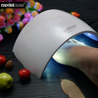 Modelones SUN9c Plus 36W UV Led Nail Lamp For Cure All Gels 18 LEDs Nail Dryer