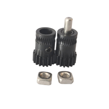 Top Quality Hardened Steel Prusa i3 mk2/mk2.5/mk3 3d printer extruder driving gear Btech dual gears Extrusion Wheel Drivegear