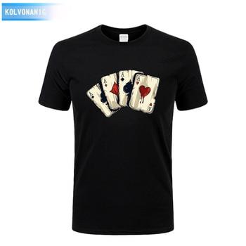 T-shirt 4 AS poker style