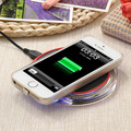 NEW LED Lights Tablet Wireless Charger Qi Phone Charger for iPhone 6 6S 5 SE 5S Wireless Charging Kit with Anti-slip Base