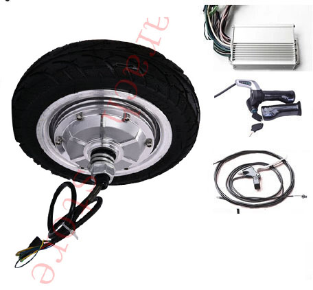 8 400w 24v electric brushless gearless hub motor electric for Electric scooter brushless motor