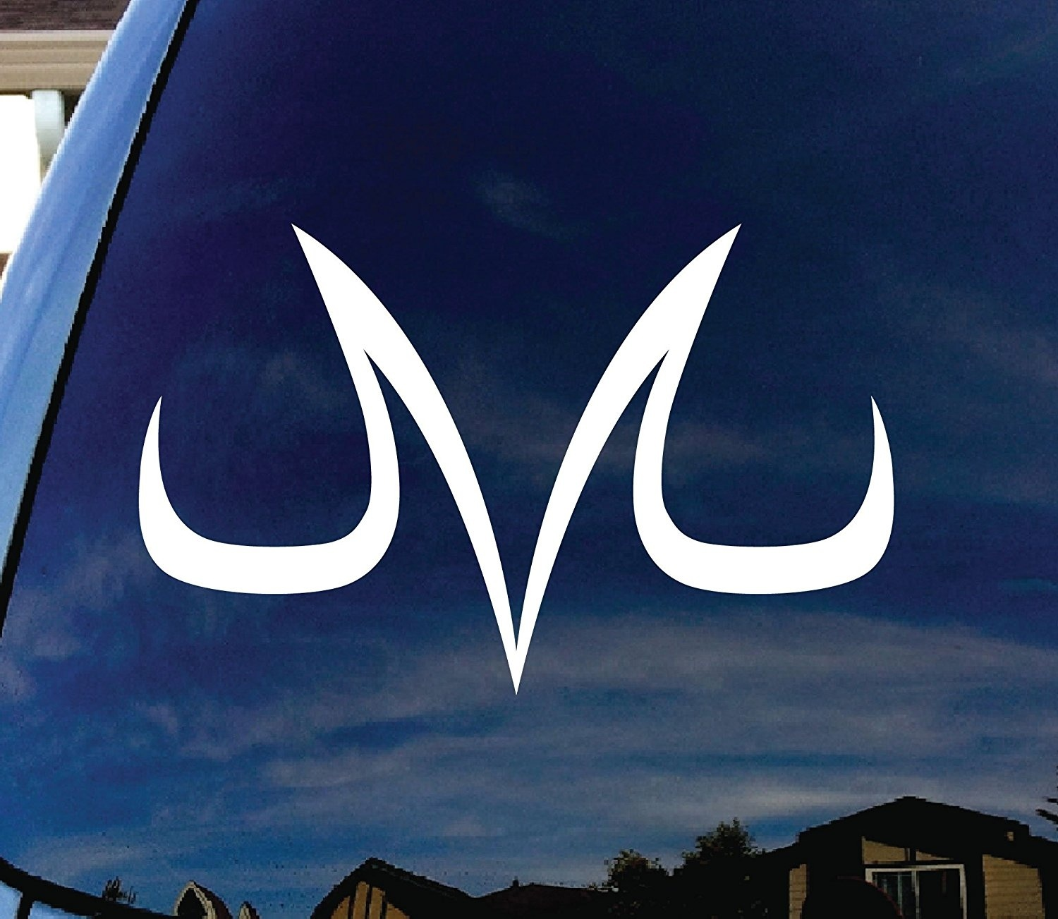 Vegeta Majin Dragonball Z Window Vinyl Decal Sticker 6