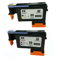1Set For HP 88 For HP88 Printhead C9381A C9382A Printhead For HPK550 K5400 K8600 L7000 L7480