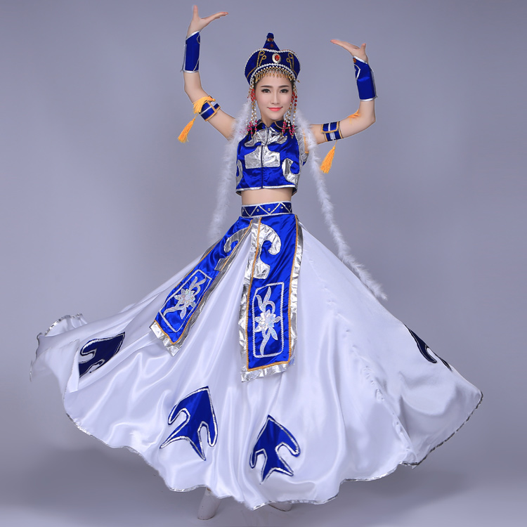 0879bbff6daf Detail Feedback Questions about Mongolian clothing new ethnic ...