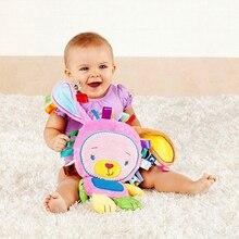 Nueva llegada Del Bebé de juguete muñeca Reconfortante con BB sonajeros Juguetes para bebés de 0-13 años de bebé jugar juguete Apaciguar muñecas WJ199-WJ202
