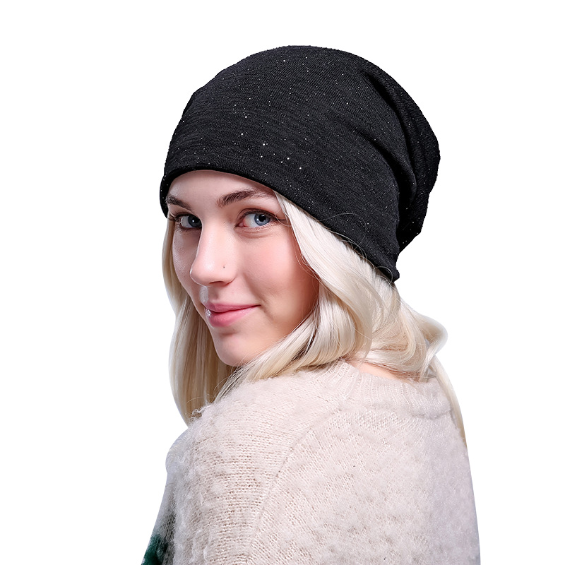 New Fashion Women Hat Soft Breathable Beanie Skullies For Women Solid Autumn Beanie  Hat Elastic High Quality Women Hats & Caps fashion cotton butterfly pattern lace hollow jacquard hats for women summer elastic thin soft breathable beanie skullies hat