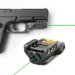 Laserspeed Subcompact Groen 9 Mm Pistool Laser Sight Usb Oplaadbare Voor Pistool Wapen Laser Pointer Mira Laser Para Pistola