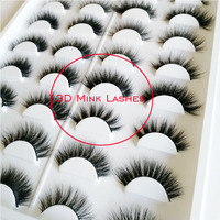 16 pairs of lashes book 3D mink eyelashes 3D mink lashes true mink hair lashes private label eyelashes book 3D lashes book