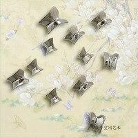 Żywica poszycie butterfly abstrakcyjne fototapetę zasłon dekoracje domu nowoczesny styl Chińskich trójwymiarowe draperie